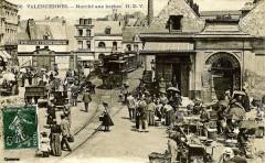 Tramway place du marché aux herbes (2) - Valenciennes