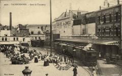 Tramway place du marché aux herbes - Valenciennes