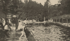 Anciens bains des Pages - Parc de Versailles - carte postale vers 1910 (2) - Versailles