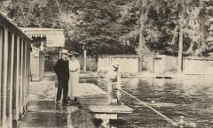 Anciens bains des Pages - Parc de Versailles - carte postale vers 1910 - Versailles