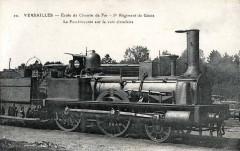 Versailles 1916 Ecole de chemin de Fer 5 Rg La foudroyante - Versailles