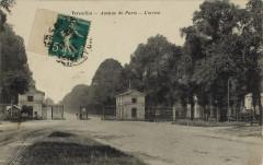 Avenue de Paris - L'octroi - Versailles