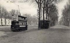 Versailles avenue de paris tramway G - Versailles