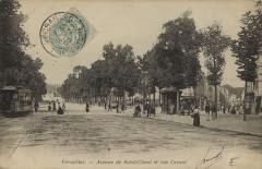 Versailles avenue st cloud rue carnot - Versailles