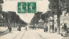 Versailles bd de la reine perspective - Versailles
