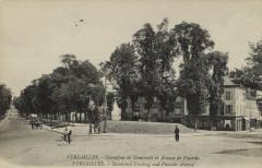 Carrefour de Montreuil et Avenue de Picardie - Versailles