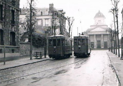 Versailles tramway église de montreuil - Versailles