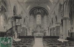 Intérieur de l'Eglise, Villejuif