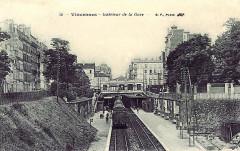 Vincennes - Interieur de la gare