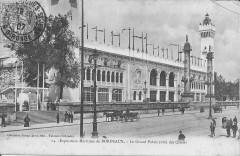 Exposition maritime de Bordeaux-Le Grand Palais (côté des Quais) - Bordeaux