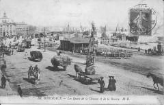 Bordeaux-Les Quais de la Douane et de la Bourse-Md 88 - Bordeaux