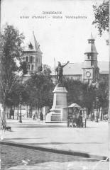 Bordeaux-Allées Damour-Statue Vercingétorix (1906) - Bordeaux