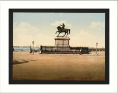 Statue of Napoleon I Cherbourg France 50 Cherbourg-en-Cotentin