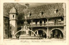 Colmar n° 2 Kaufhaus - Fontaine Schwendi - Colmar