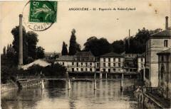 Angouleme - Papeterie de Saint-Cybard - Angoulême