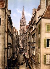 Grande Rue, Saint-Malo, Brittany, France, ca. 1899 - Saint-Malo