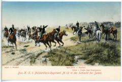 Le régiment d'artillerie de campagne K.S.1. N°12 à la bataille de Sedan - Sedan