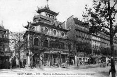 Théâtre de Bataclan, Boulevard Voltaire - Paris 11e