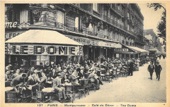 Montparnasse - Café du Dôme 75 Paris 14e