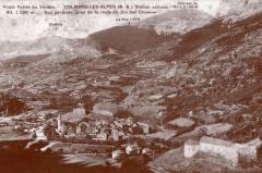 Carte postale ancienne – Colmars-les-Alpes  - Colmars