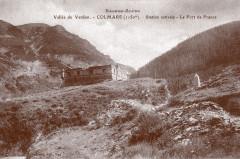 Carte postale ancienne – Le fort de France à Colmars-les-Alpes  - Colmars