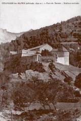 Carte postale ancienne – Le fort de Savoie à Colmars-les-Alpes  - Colmars