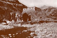 Carte postale ancienne – Le Verdon et le fort de France à Colmars-les-Alpes  - Colmars