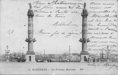 Bordeaux-Les Colonnes Rostrales-Pp 12 - Bordeaux