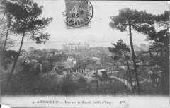 Arcachon-Vue sur le bassin (ville d'hiver)-Pp 3 - Arcachon