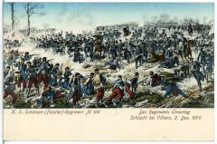 06683-Villiers-1905-Königlich Sächsisches Schützen-Regiment Nr. 108 - Schlacht bei Villiers 1870-Brück & Sohn Kunstverlag France