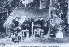 La Roche-Maurice sabotiers 1908 François Tourmen - La Roche-Maurice