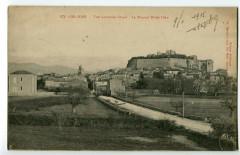 Drôme Grignan vue générale Ouest Le Nouvel Hôtel-dieu - Die