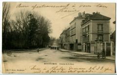 Drôme Montélimar Avenue de la Gare animé - Montélimar
