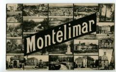 Drôme Montélimar Carte multivues - Montélimar