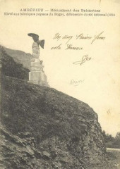 Cp ancienne - L'Aigle des Balmettes - Ambérieu-en-Bugey