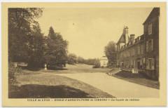 Cp - école d'agriculture de Cibeins - façade château - Misérieux