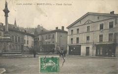 Carte postale ancienne - Montluel - 3 - Montluel