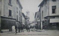 Carte postale ancienne - Montluel - 5 - Montluel