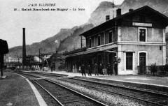 Gare-Saint-Rambert-en-Bugey-CPancienne - Saint-Rambert-en-Bugey