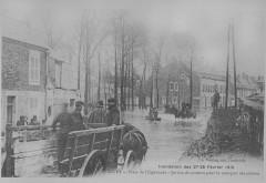 1910 inondations à Givet France