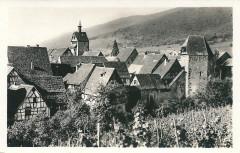 Riquewihr-Fr-68-vers 1935-vue générale - Riquewihr