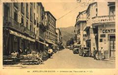 Amélie-les-Bains - Avenue de Vallespir (CP) - Amélie-les-Bains-Palalda
