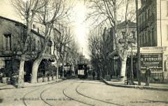 Perpignan - Avenue de la Gare (vers 1905) - Perpignan