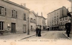 Place Castellane Caluire 1919 - Caluire-et-Cuire