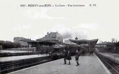 Rosny-sous-Bois - La Gare - Vue Interieure 93 Rosny-sous-Bois