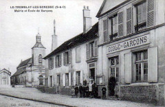 Tremblay-les-Gonesse - Mairie et école de garçons - Tremblay-en-France