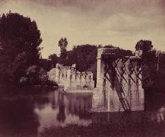 Braun, Adolphe (1811-1877) - Paris, 1871 - Pont de Champigny-sur-Marne