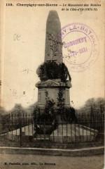 Champigny-sur-Marne.Monument des Mobiles