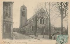 Champigny.Eglise