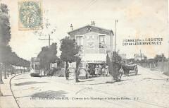 Fontenay-sous-Bois.Avenue de la République et rue des Moulins